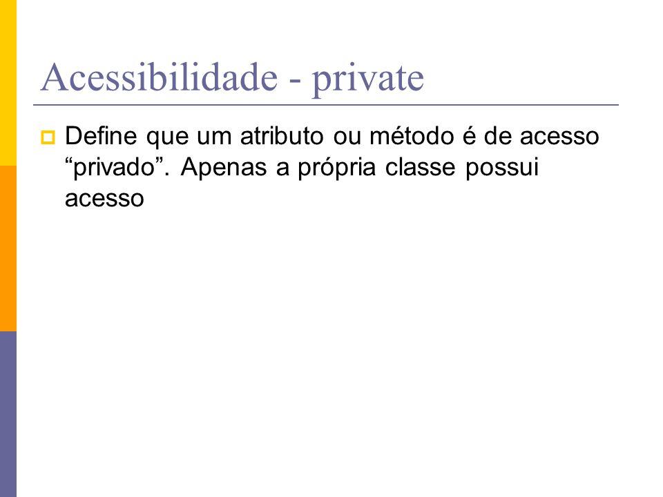 Acessibilidade - private