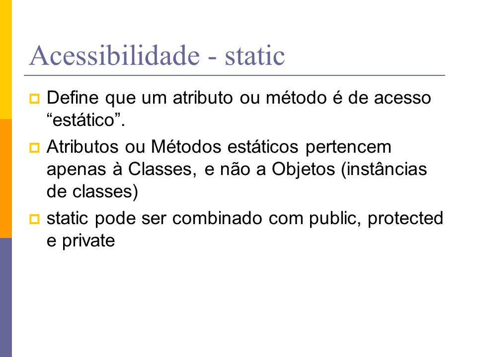 Acessibilidade - static