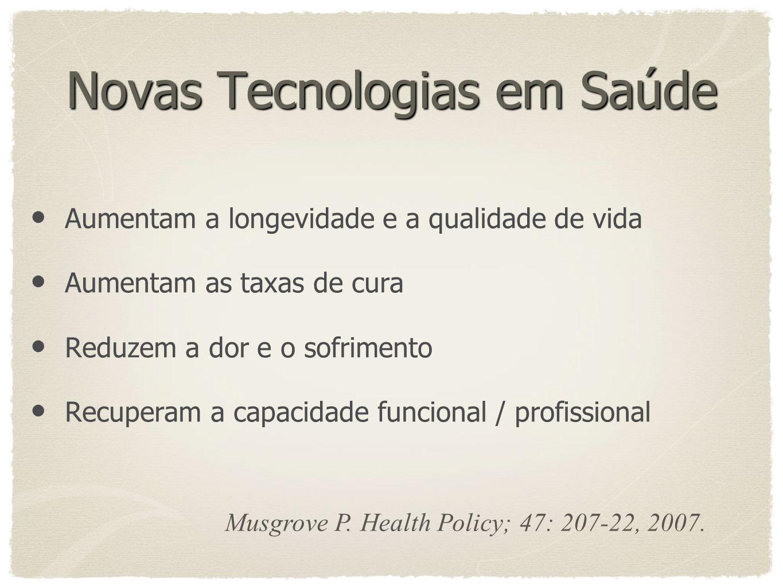 Novas Tecnologias em Saúde