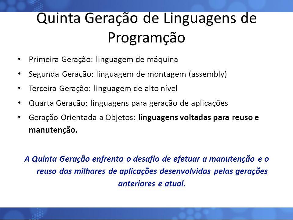 Quinta Geração de Linguagens de Programção