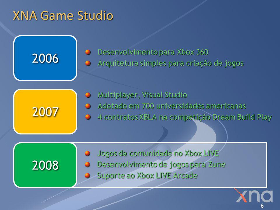 XNA Game Studio 2006 2007 2008 Desenvolvimento para Xbox 360