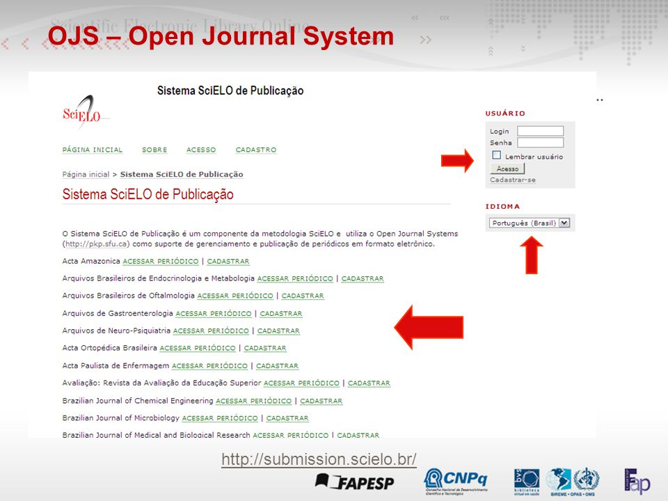 OJS – Open Journal System
