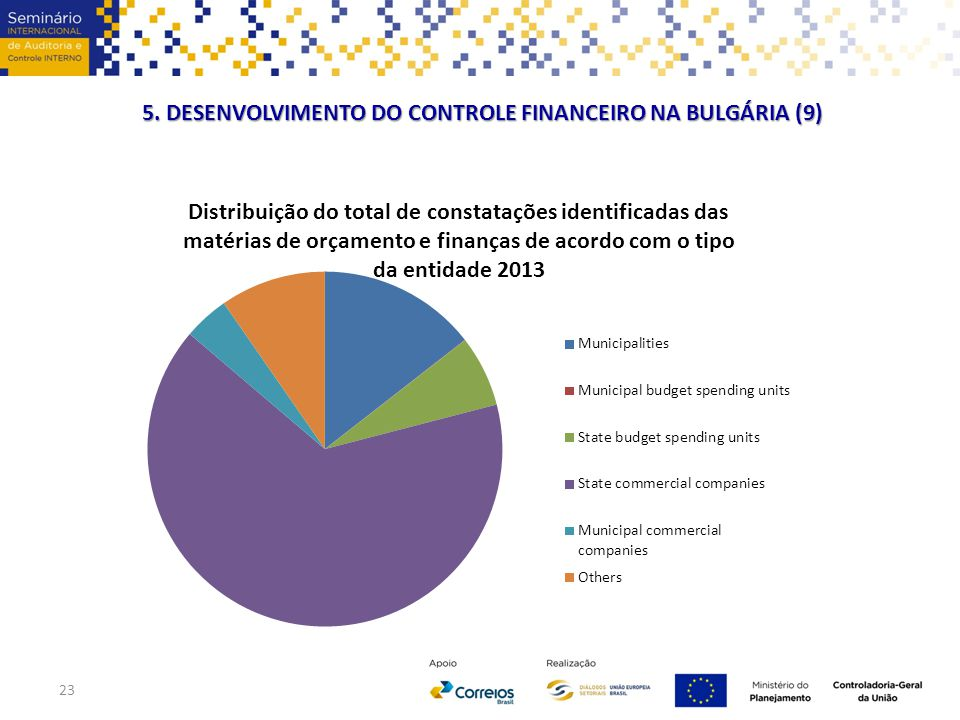 5. DESENVOLVIMENTO DO CONTROLE FINANCEIRO NA BULGÁRIA (9)