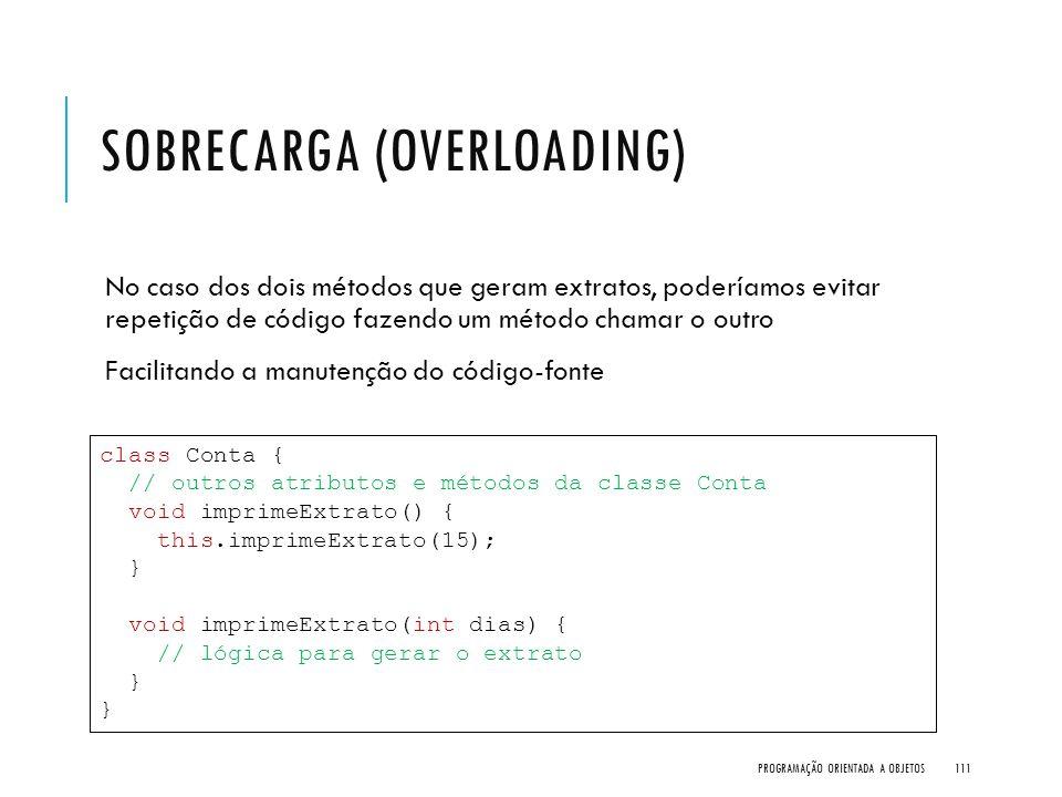 Sobrecarga (Overloading)