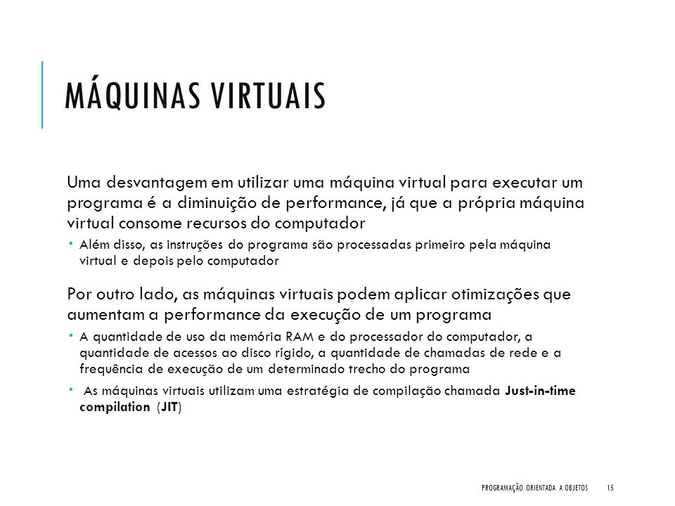 Máquinas Virtuais