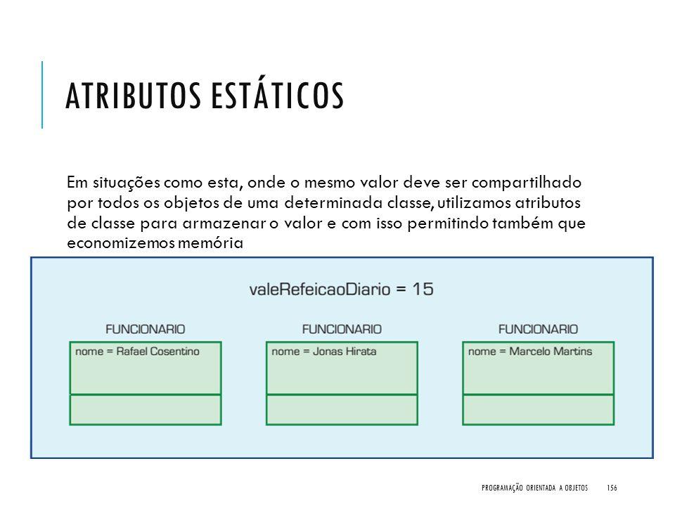 Atributos Estáticos