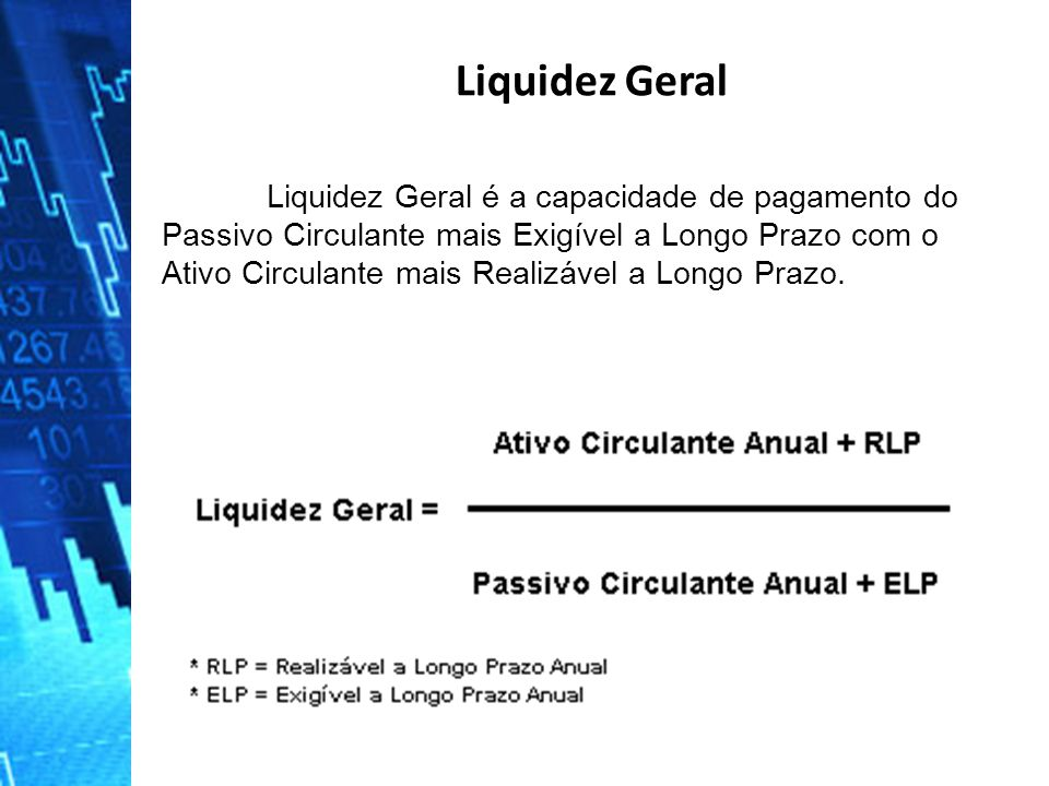 Liquidez Geral