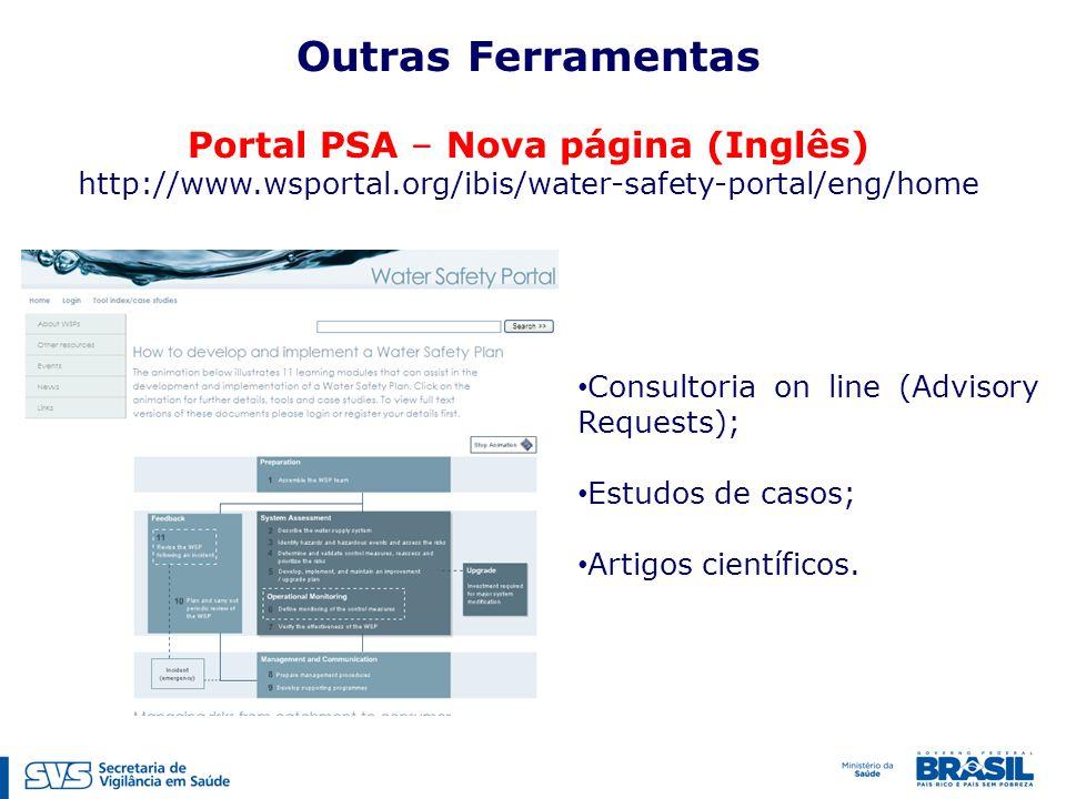 Portal PSA – Nova página (Inglês)