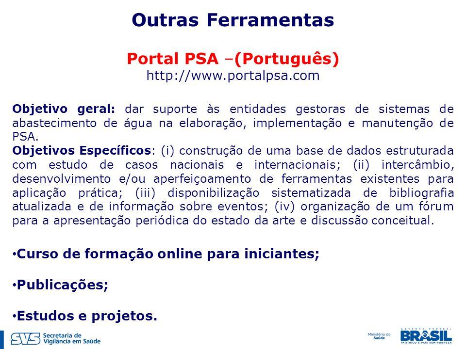 Portal PSA –(Português)