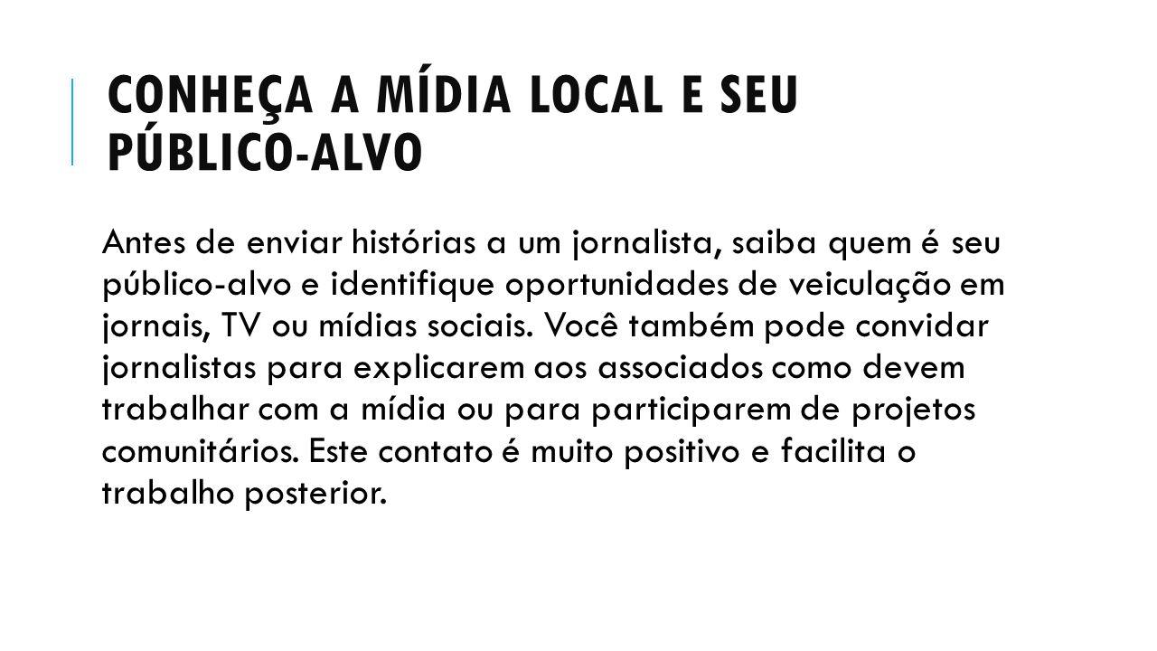 Conheça a mídia local e seu público-alvo
