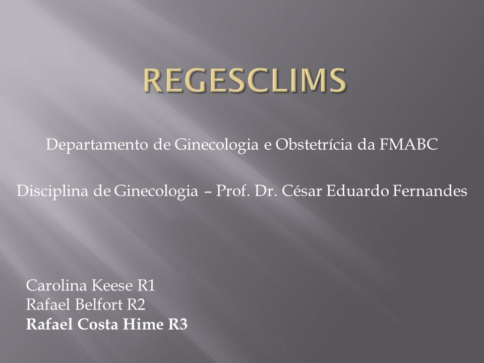regesclims Departamento de Ginecologia e Obstetrícia da FMABC