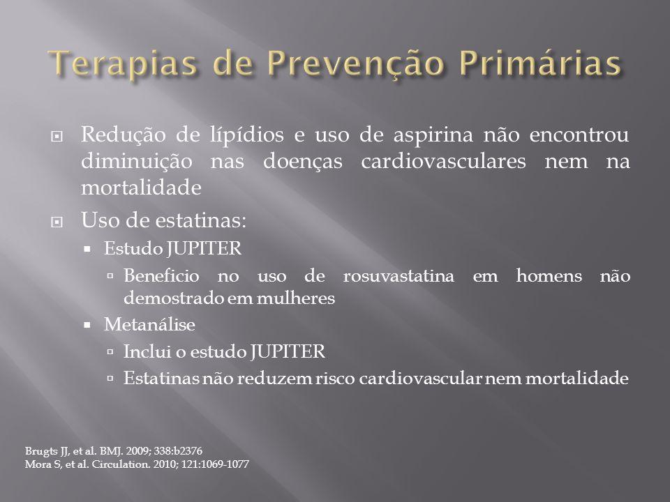 Terapias de Prevenção Primárias