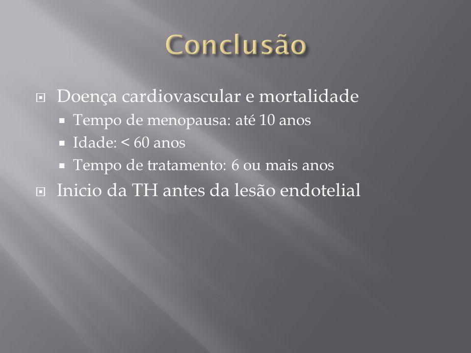 Conclusão Doença cardiovascular e mortalidade
