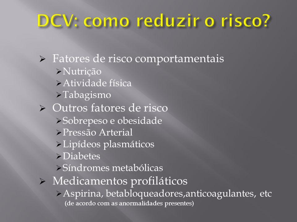 DCV: como reduzir o risco