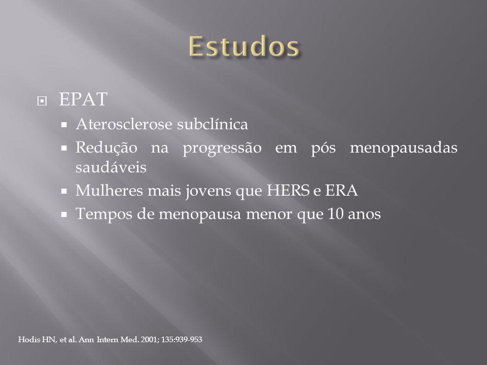 Estudos EPAT Aterosclerose subclínica