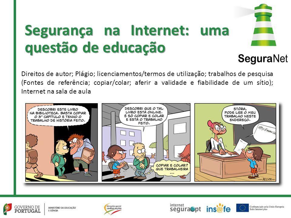 Segurança na Internet: uma questão de educação