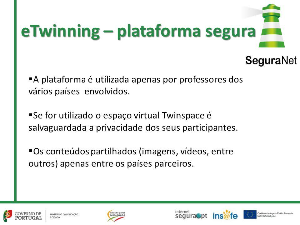 eTwinning – plataforma segura