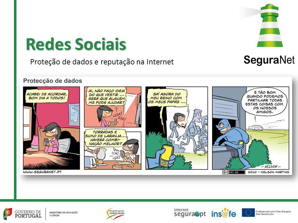 Redes Sociais Proteção de dados e reputação na Internet