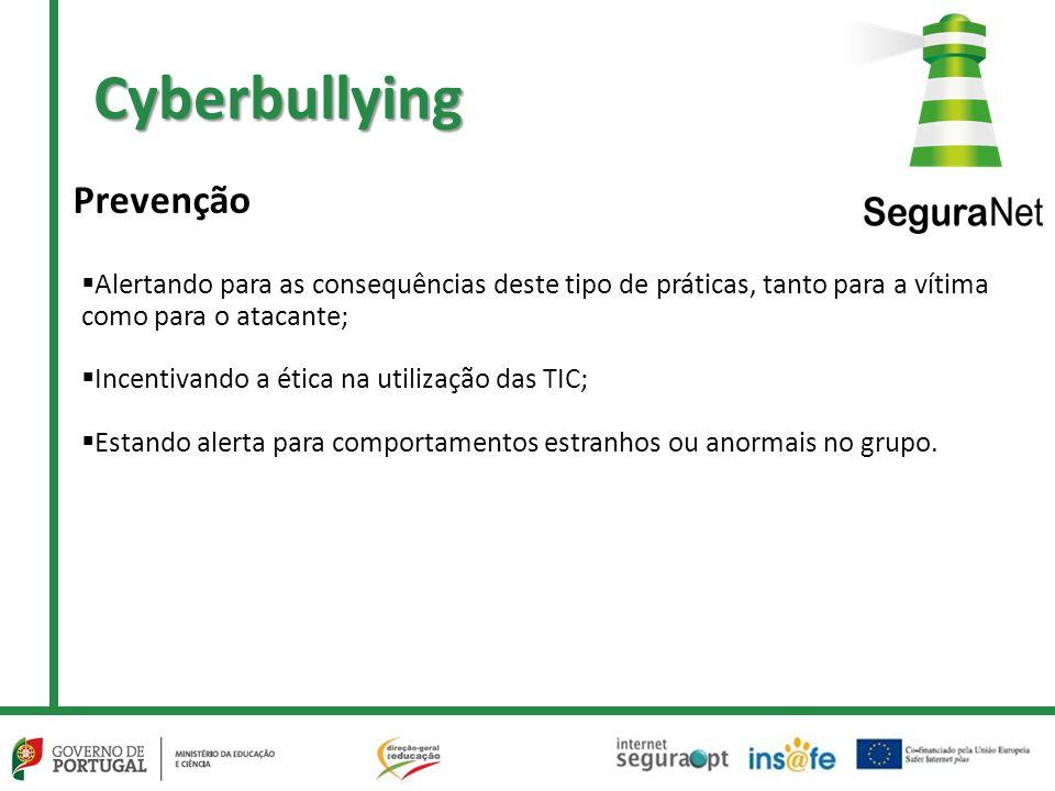Cyberbullying Prevenção