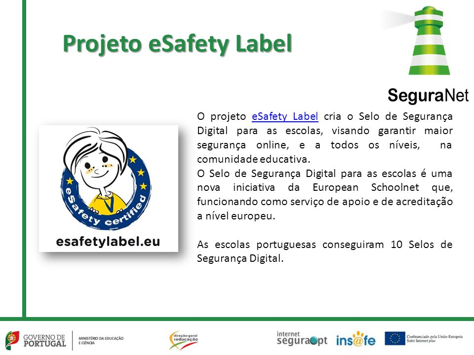 Projeto eSafety Label
