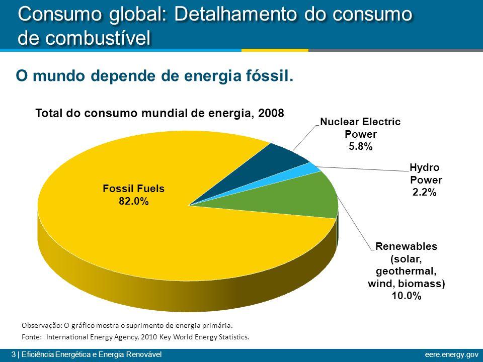 Consumo global: Detalhamento do consumo de combustível