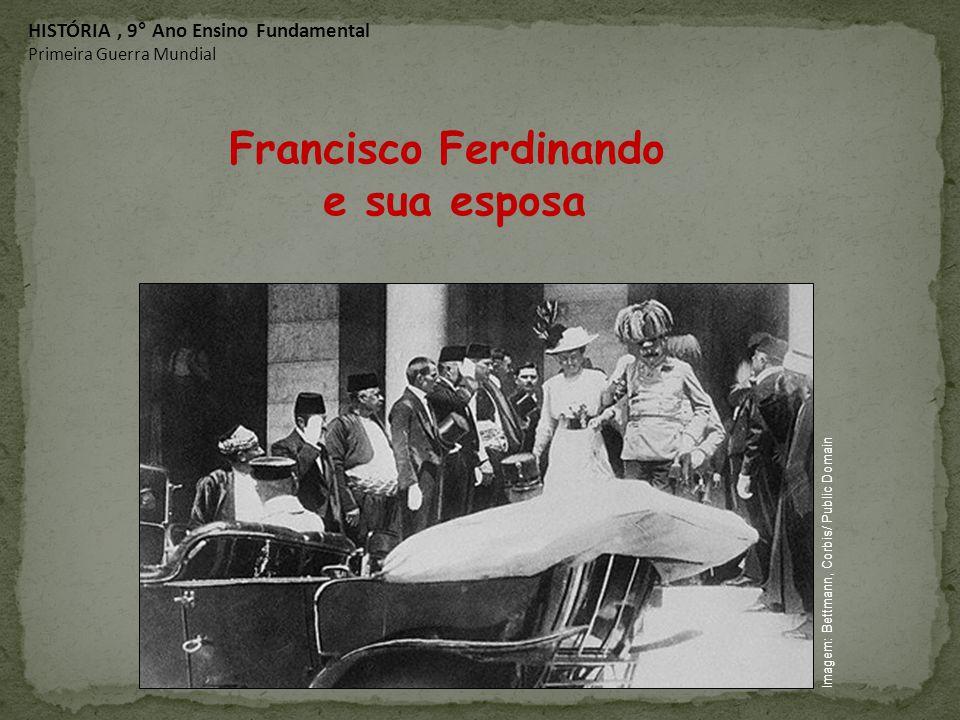 Francisco Ferdinando e sua esposa