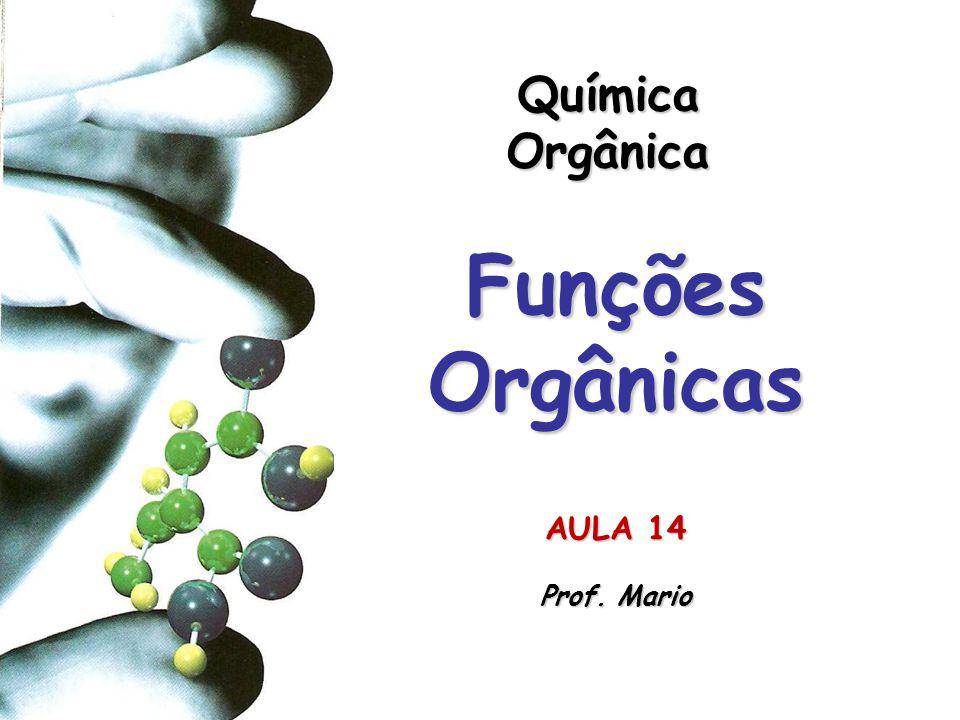 Química Orgânica Funções Orgânicas AULA 14 Prof. Mario