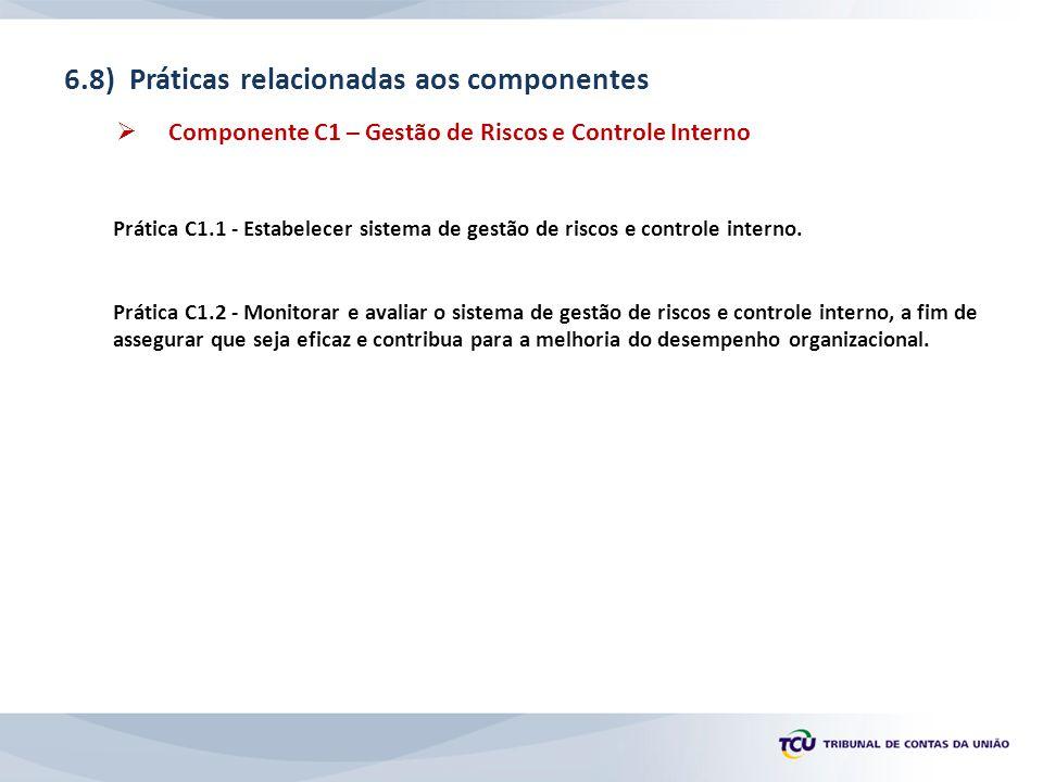 6.8) Práticas relacionadas aos componentes