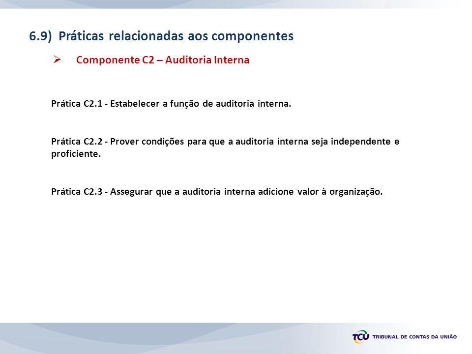 6.9) Práticas relacionadas aos componentes