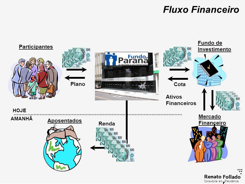 Fluxo Financeiro Fundo de Investimento Participantes Plano Cota Ativos