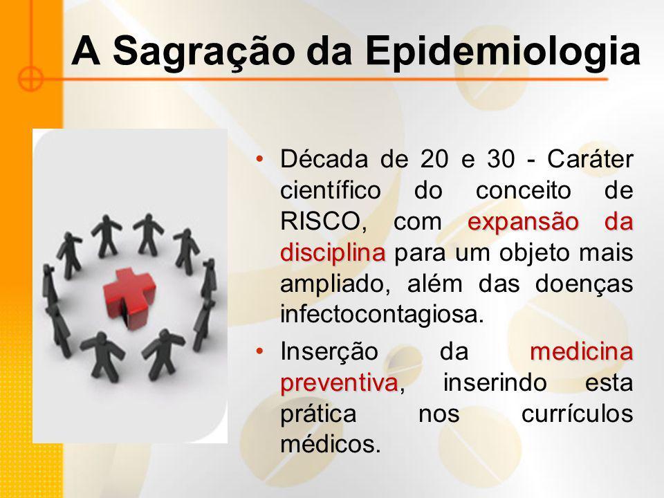 A Sagração da Epidemiologia