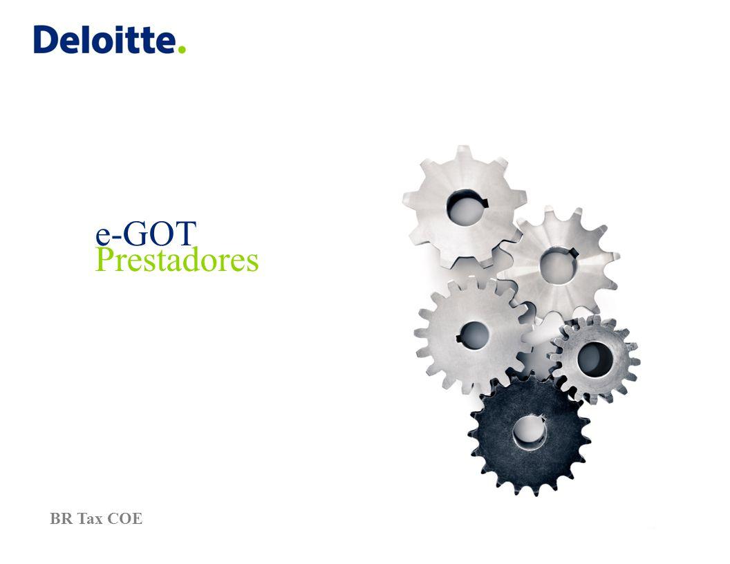 e-GOT Prestadores BR Tax COE