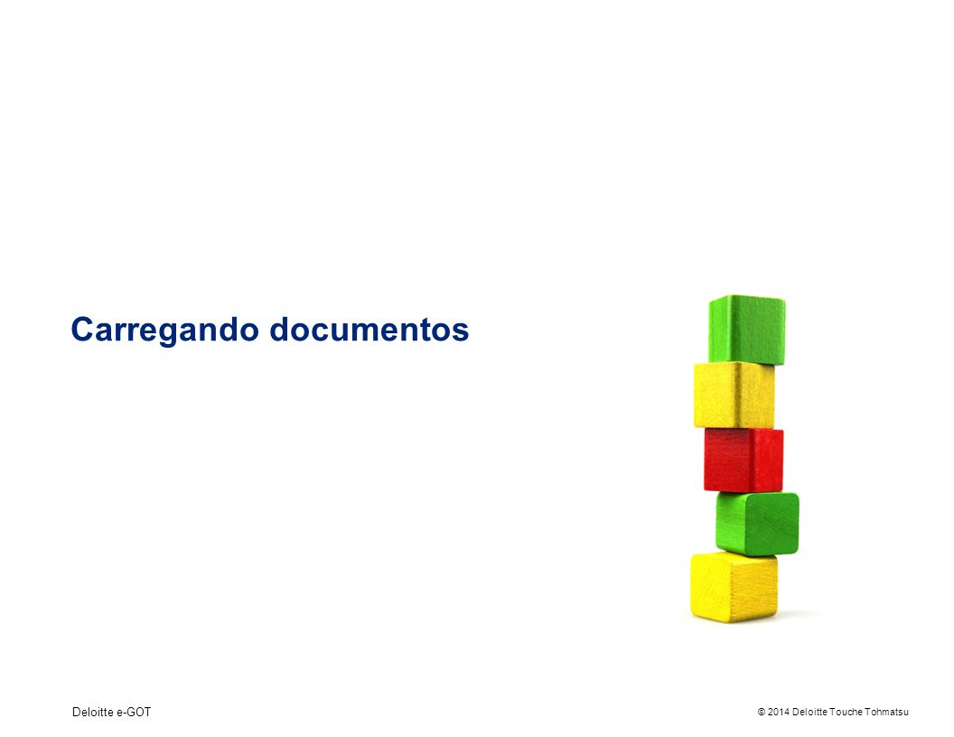 Carregando documentos