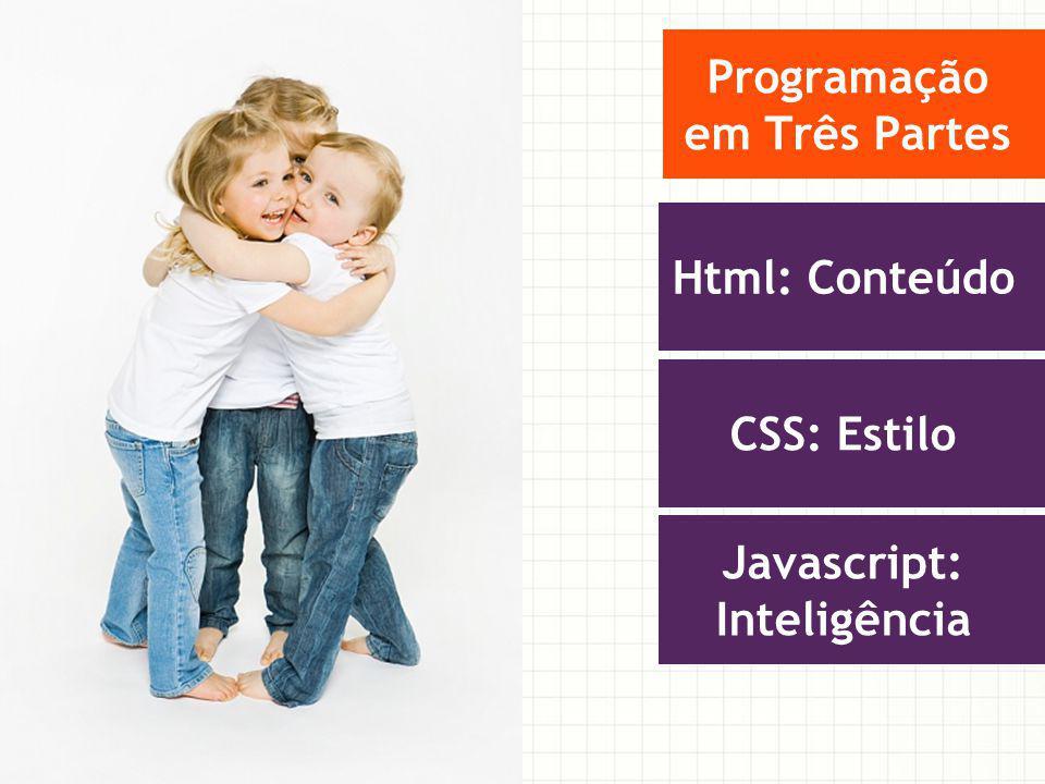 Programação em Três Partes Javascript: Inteligência