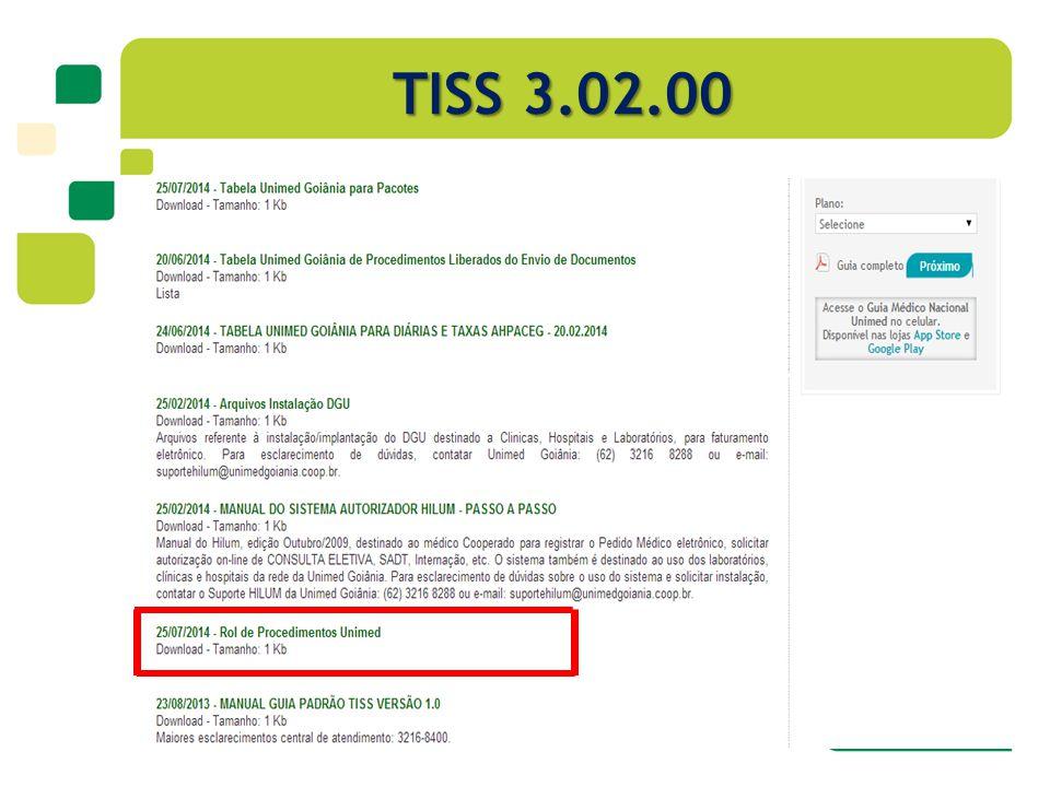 TISS 3.02.00