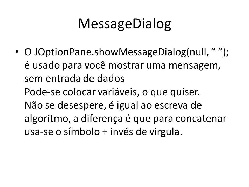 MessageDialog