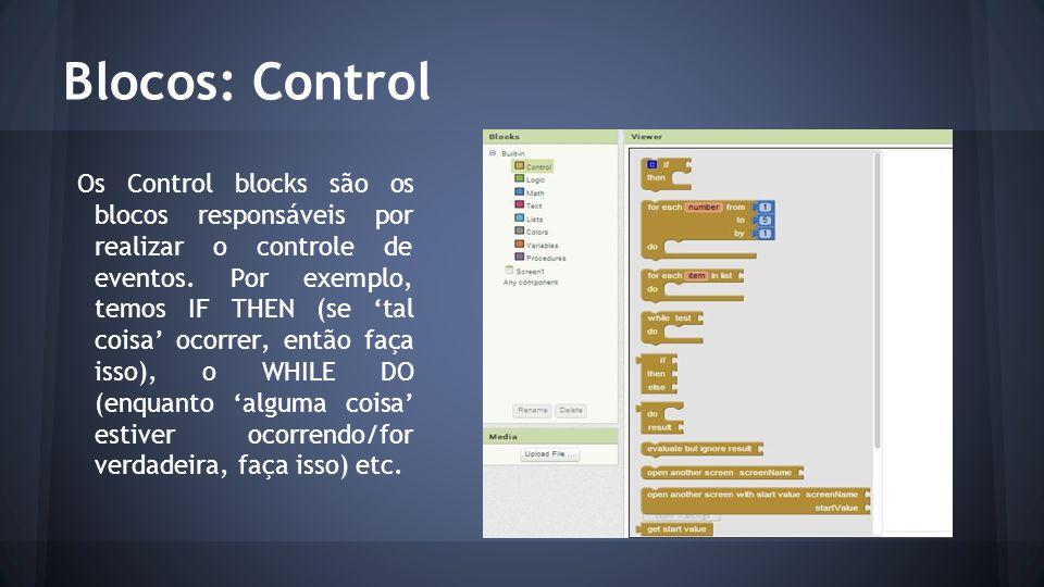 Blocos: Control