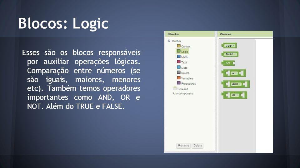 Blocos: Logic