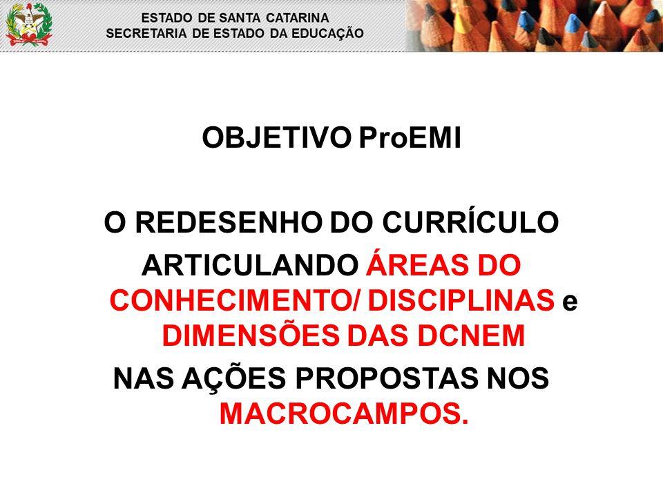 O REDESENHO DO CURRÍCULO