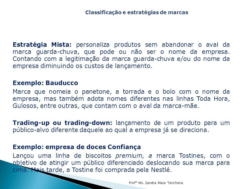 Exemplo: empresa de doces Confiança