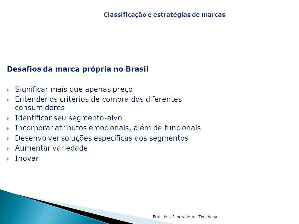 Desafios da marca própria no Brasil Significar mais que apenas preço