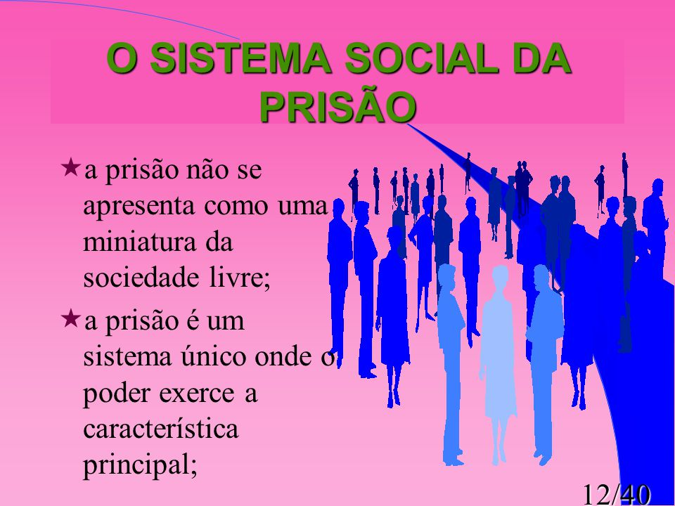 O SISTEMA SOCIAL DA PRISÃO