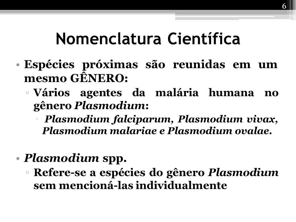 Nomenclatura Científica