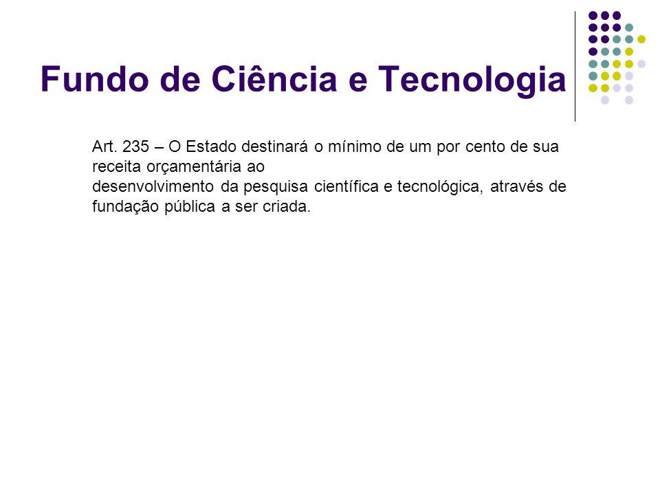 Fundo de Ciência e Tecnologia