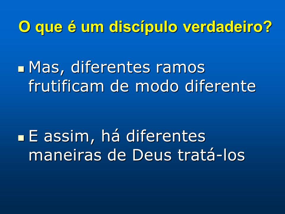 O que é um discípulo verdadeiro
