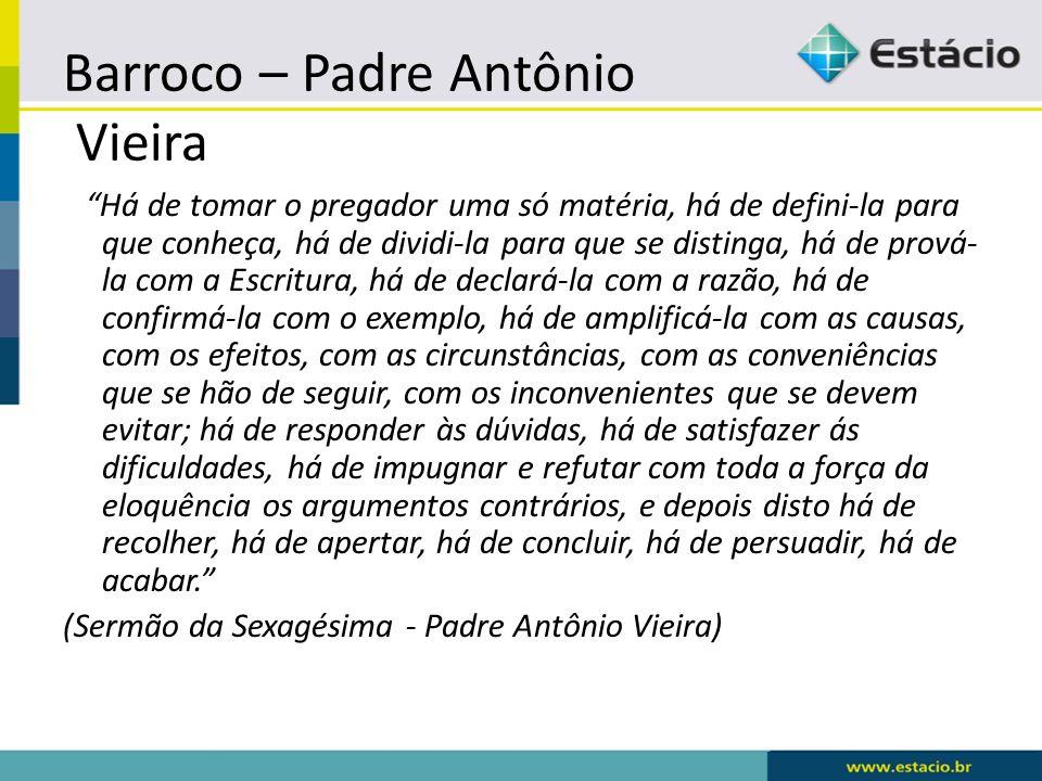 Barroco – Padre Antônio Vieira