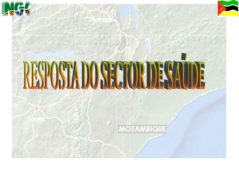RESPOSTA DO SECTOR DE SAÚDE