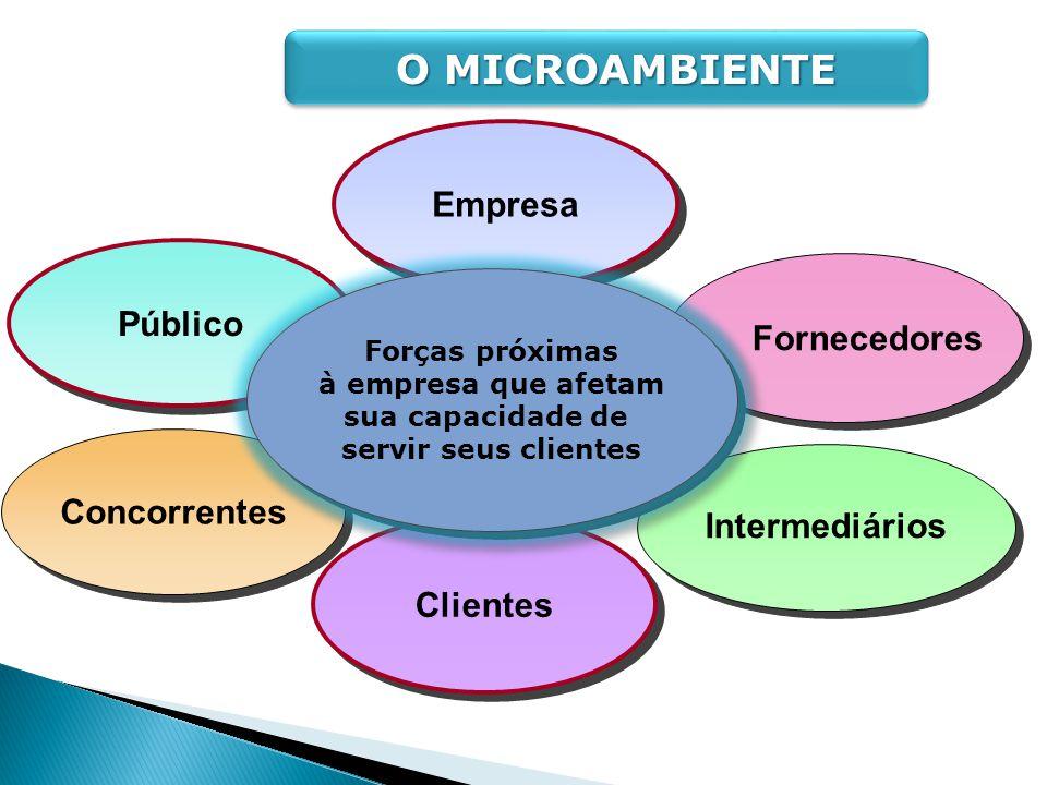 Empresa Público Concorrentes Intermediários Clientes