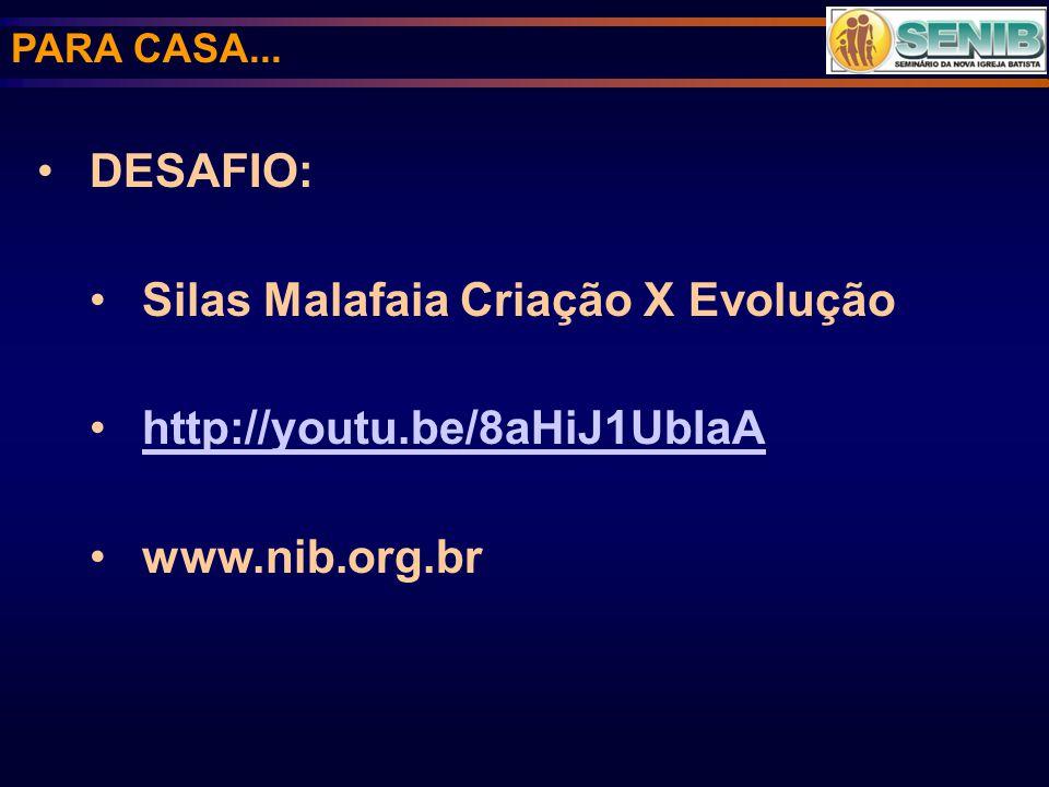 Silas Malafaia Criação X Evolução http://youtu.be/8aHiJ1UbIaA