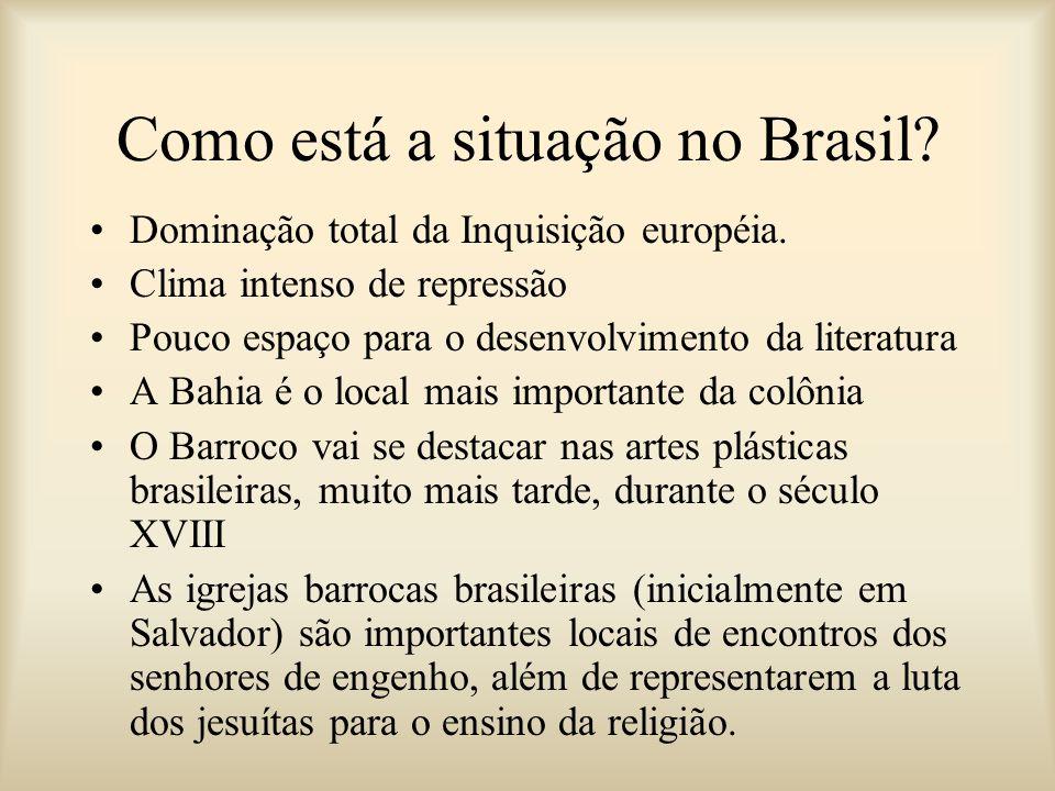 Como está a situação no Brasil